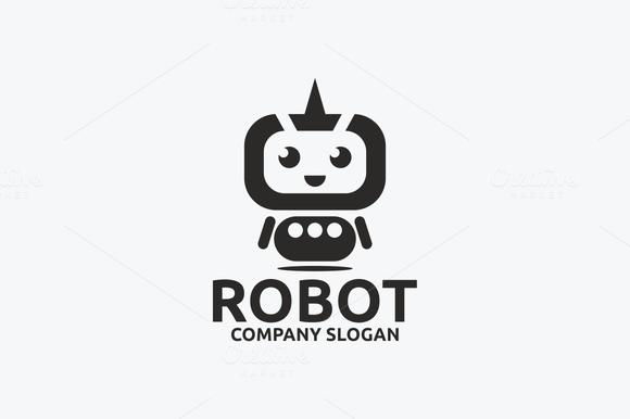 Robot Robot Logo Robot Icon Logo Design