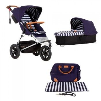 mountain buggy urban jungle luxury nautical bundle mit. Black Bedroom Furniture Sets. Home Design Ideas