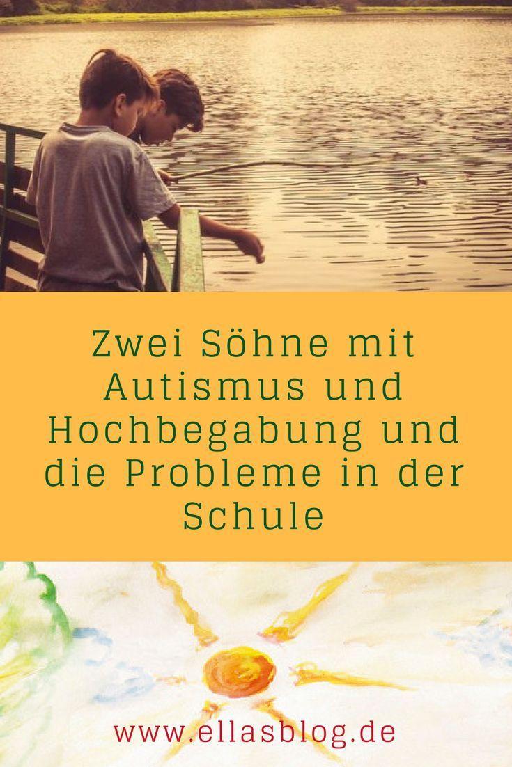Utas beiden Söhne sind Autisten und hochbegabt. Sie berichtet über die Probleme in der Schule ,,, www.ellasblog.de #autismus #hochbegabung #hochbegabt #inklusion #schule