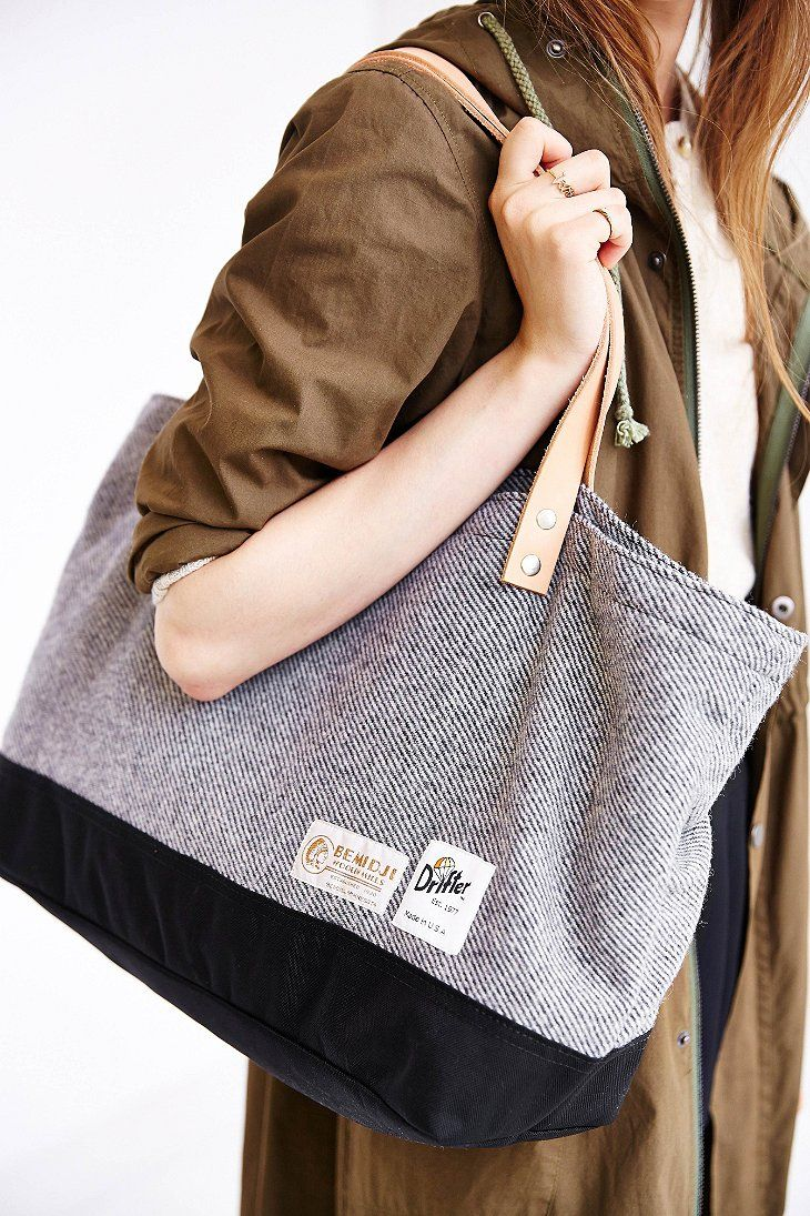 Drifter Bag Tweed Club Tote Bag - Urban Outfitters