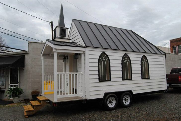 Tiny Chapel Puts A Whole New Spin On Small Weddings