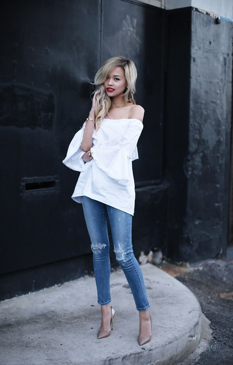 105 Spring Outfits To Give You That Edge You Crave | Top top, Kurt ...