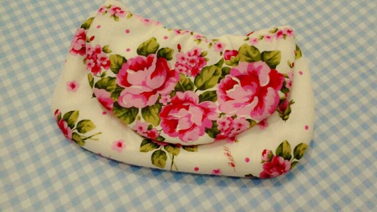 This floral clutch fresh from my garden ♡♥