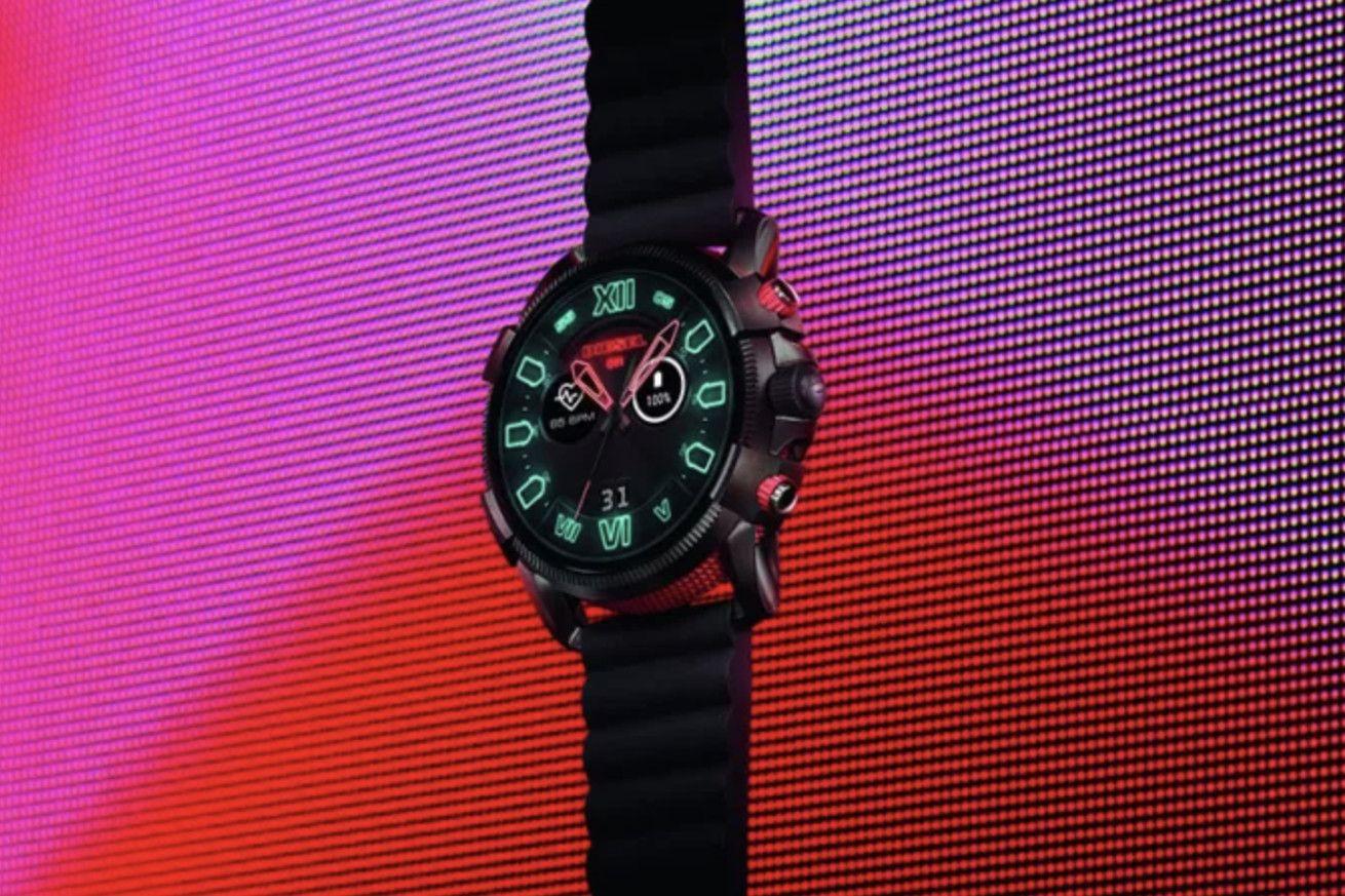 Diesel S New Full Guard 2 5 Is The Biggest Wear Os Watch Yet Watch Companies Smart Watch Wear Watch