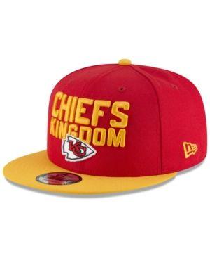 72fb2a59 New Era Kansas City Chiefs Draft Spotlight 9FIFTY Snapback Cap - Red ...