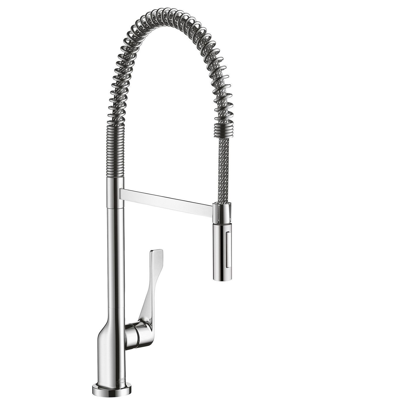 Hansgrohe 39840801 Steel Optik Axor Citterio Semi-Pro Kitchen Faucet ...