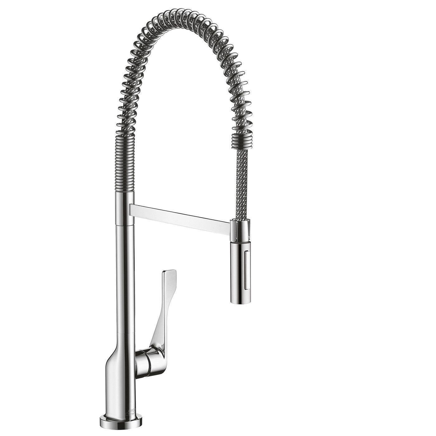 Hansgrohe Axor 39840801 steel Optik Citterio Pre-Rinse Kitchen ...