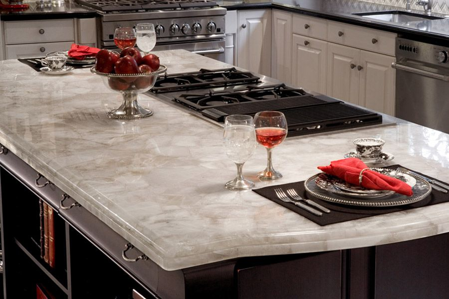 Design your kitchen with caesarstone concetto puro tile for Cost of caesarstone countertops