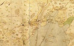Osa Fr J Fonseenin Helsingin Pitajan Kartasta Vuodelta 1749