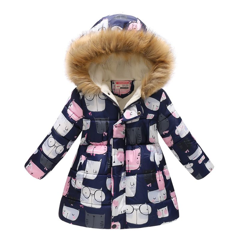 655b1d636 kids Girls Jacket 2018 Autumn Winter Jacket For Girls Coat baby Warm ...
