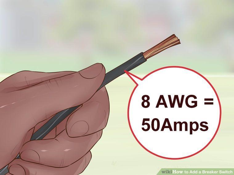 how to add a breaker switch with pictures wikihow elektriese rh pinterest co uk Breaker Panel 15-Amp Breaker