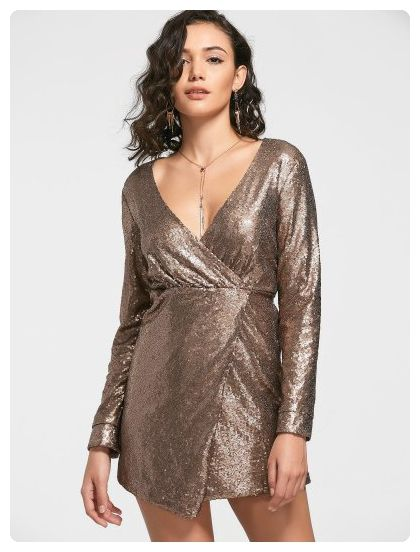 Prom Dress (Golden)