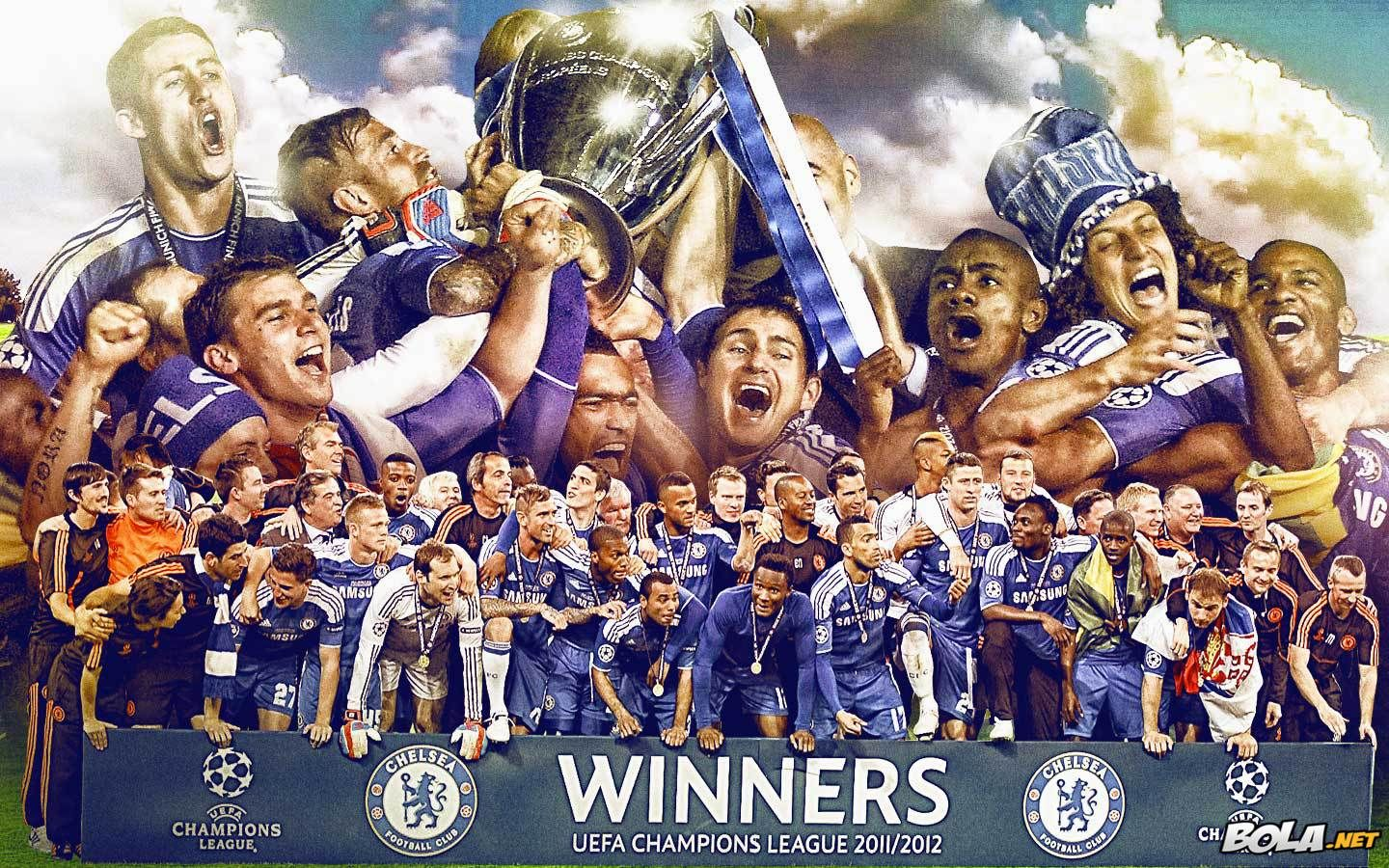 Wallpaper Chelsea Champions Size