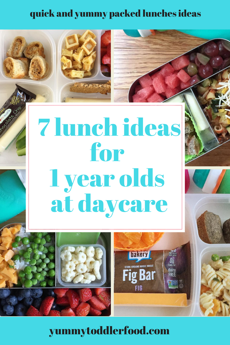 7 lunch box ideas for 1 year olds | toddler lunch ideas | toddler