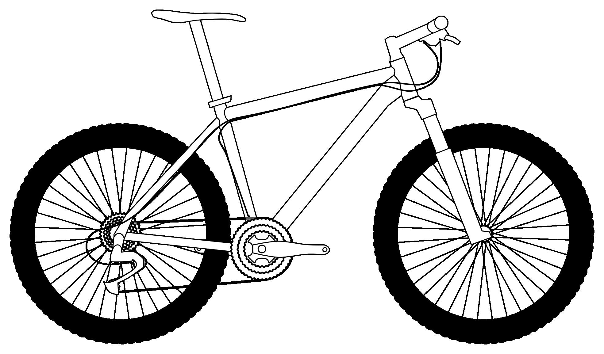 Mountain Bike Drawing