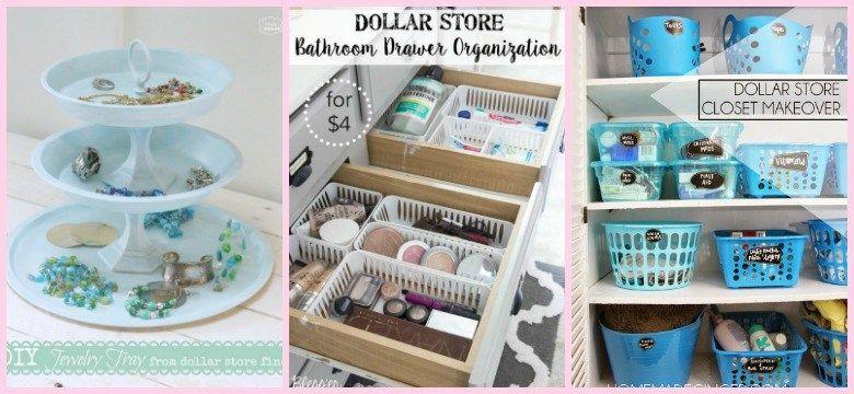 10 Dollar Store Organization Ideas That Are Border Line Genius Mom Insane Fit In 2020 Dollar Store Organizing Dollar Stores 10 Dollar Store