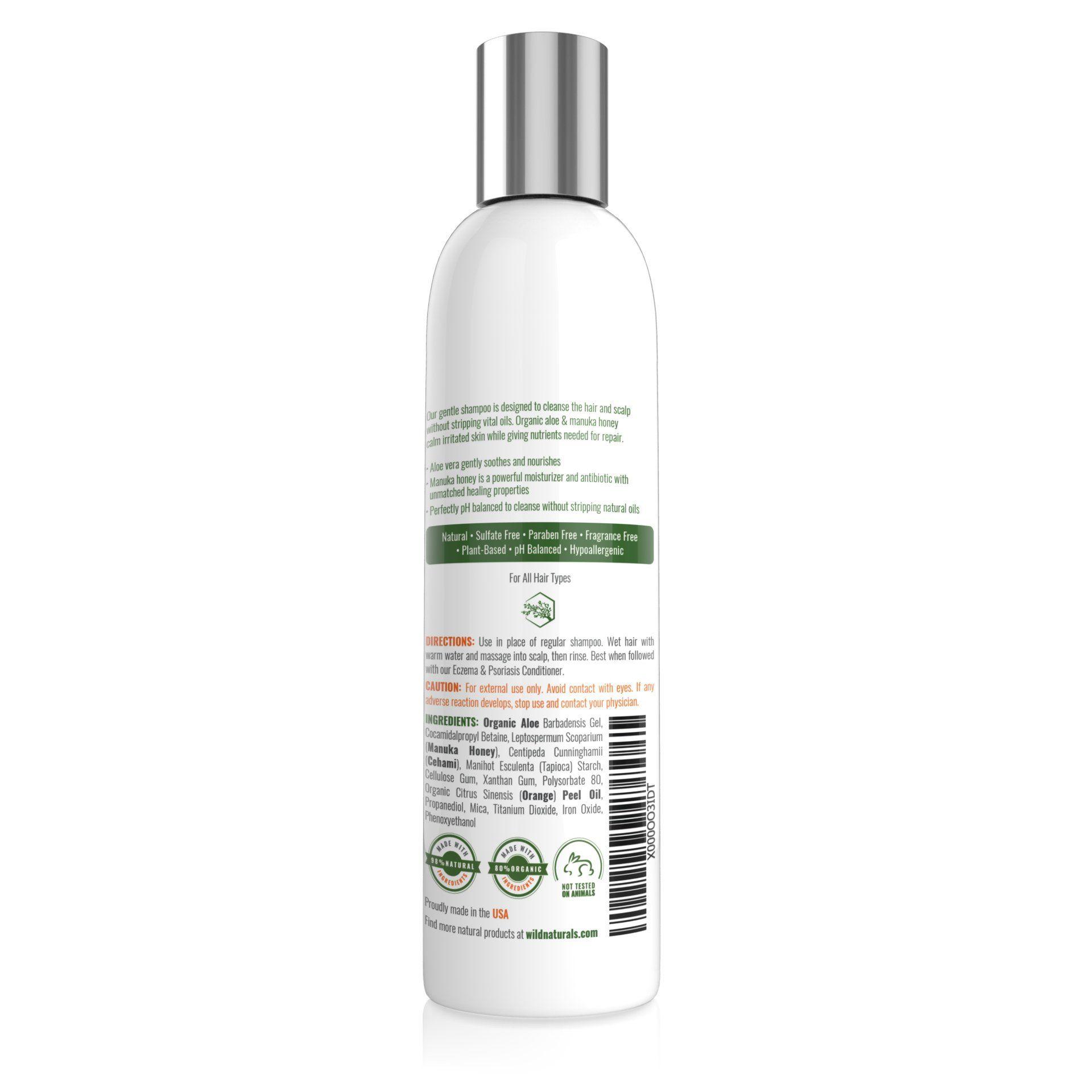 Wild Naturals Eczema Shampooideas Soap For Sensitive Skin Dry Scalp Treatment Eczema Psoriasis