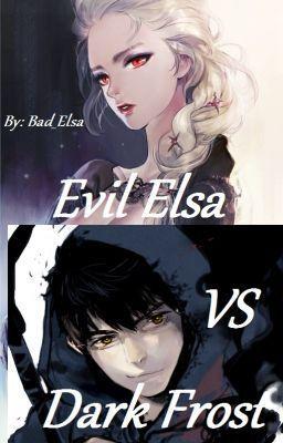 Dark Elsa vs Dark Jack Frost
