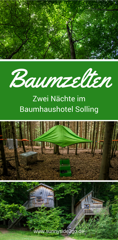Baumhaushotel Niedersachsen übernachten im baumzelt ein kleines abenteuer im weserbergland
