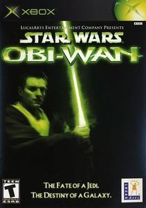 Star Wars Obi Wan Xbox Game Star Wars Obi Wan Obi Wan Star