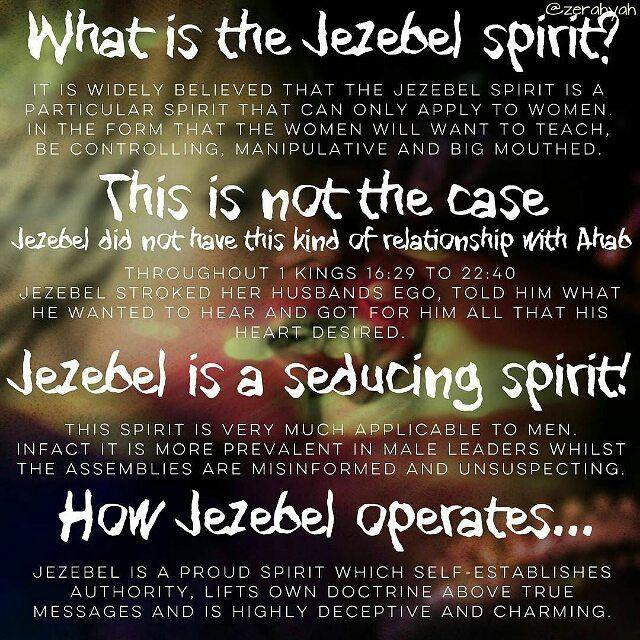 Repost @zerahyah ・・・ What is the Jezebel spirit