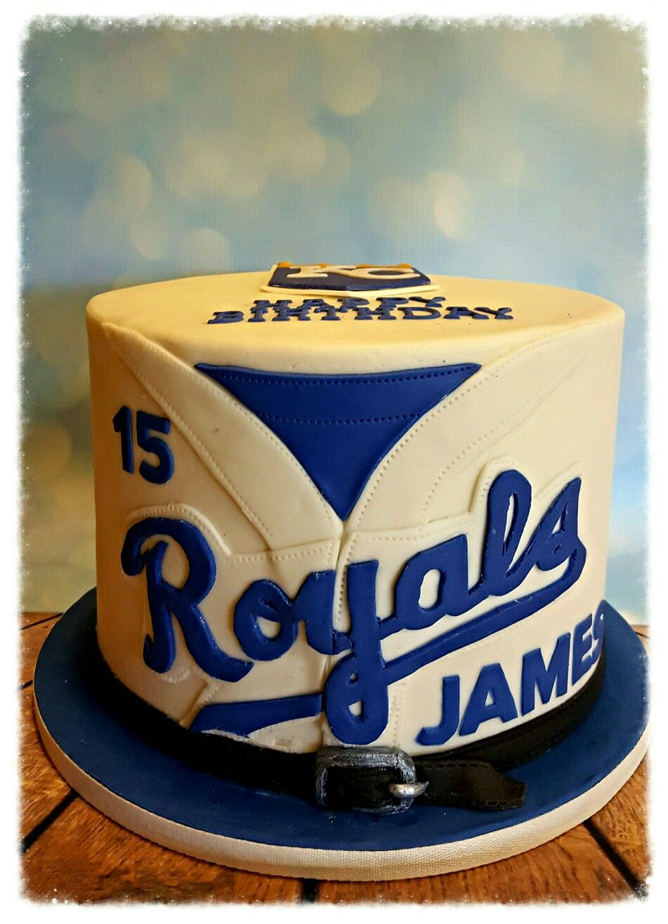 Strange Kansas City Royals Cake Royal Cakes 2Nd Birthday Party For Boys Funny Birthday Cards Online Overcheapnameinfo