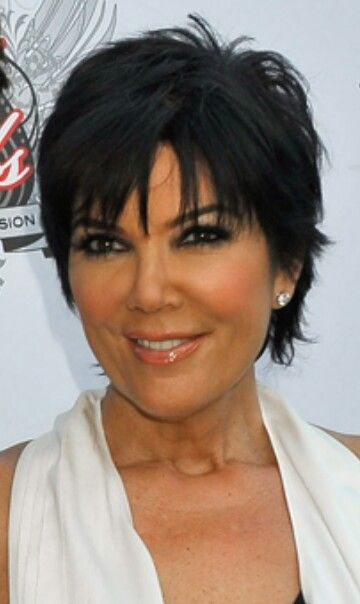 Kris Jenner Haircut Back View Love Kris Jenner S Short Hairstyle Jenner Hair Short Hair Haircuts Kris Jenner Hair