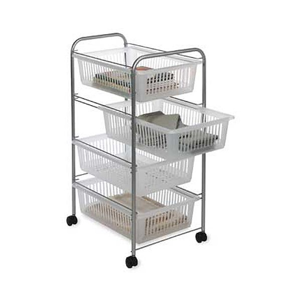 jumbo 4 drawer rolling cart utility cart building ideas and rh pinterest com