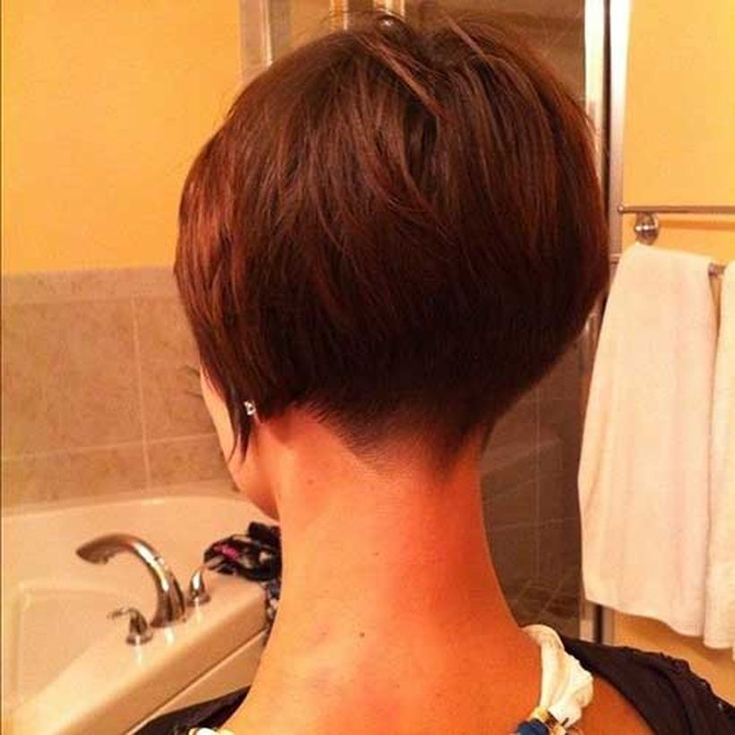 Stylist Back View Short Pixie Haircut Hairstyle Ideas 52 Pinterest