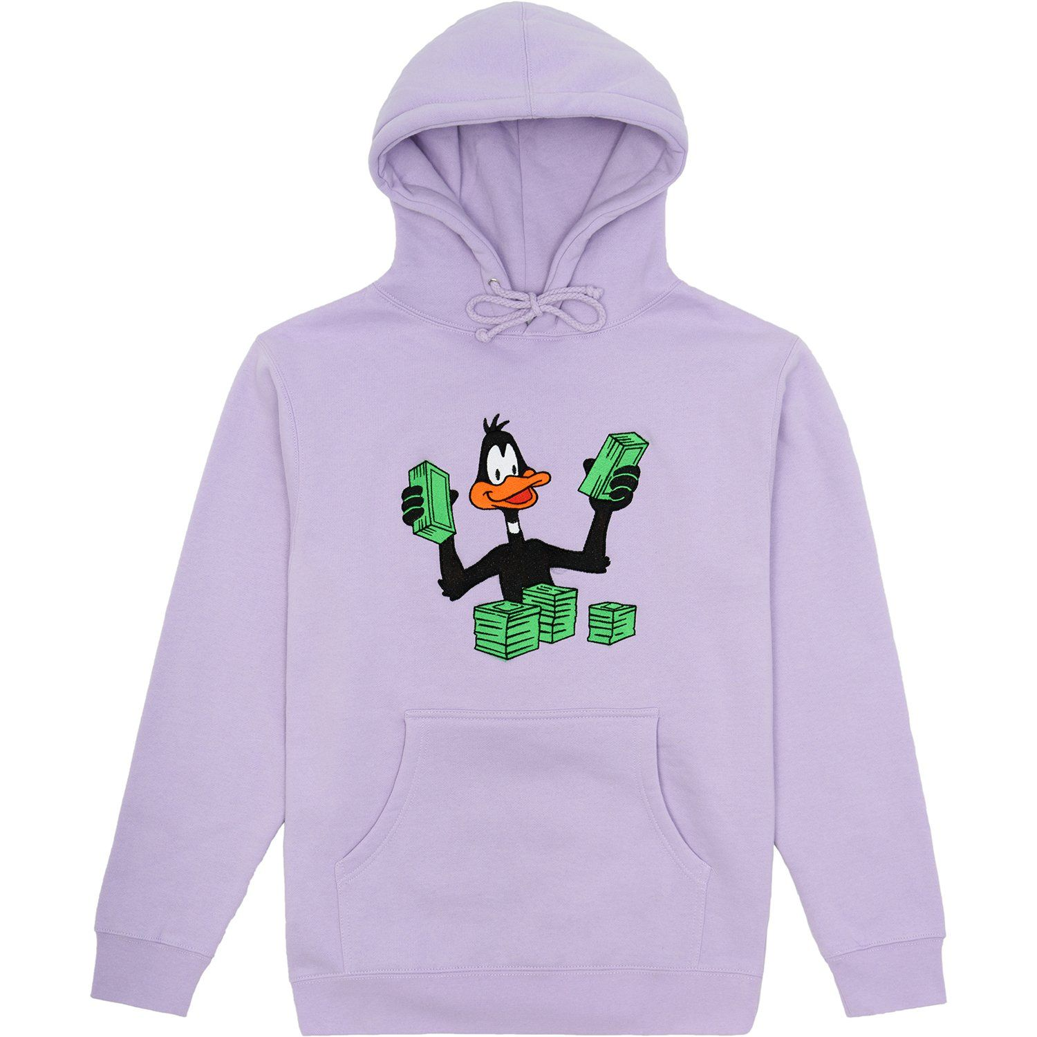 Daffy Duck Stacking Money Hoodie | fits ☽ in 2019 | Hoodies