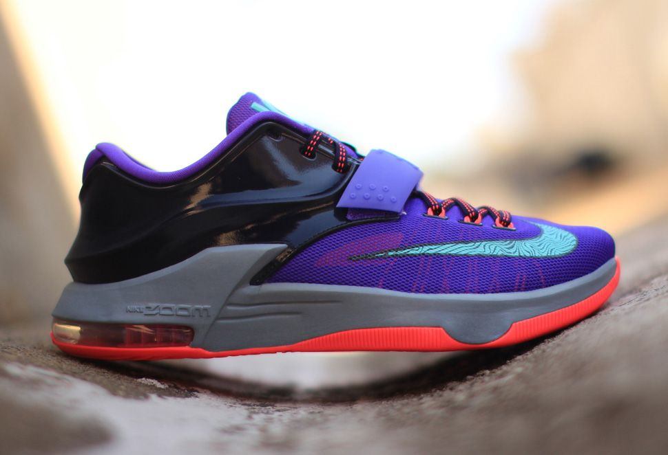 """quality design 58be5 2457e Nike KD 7 """"Cave Purple"""" (Detailed Pics   Release Info)"""