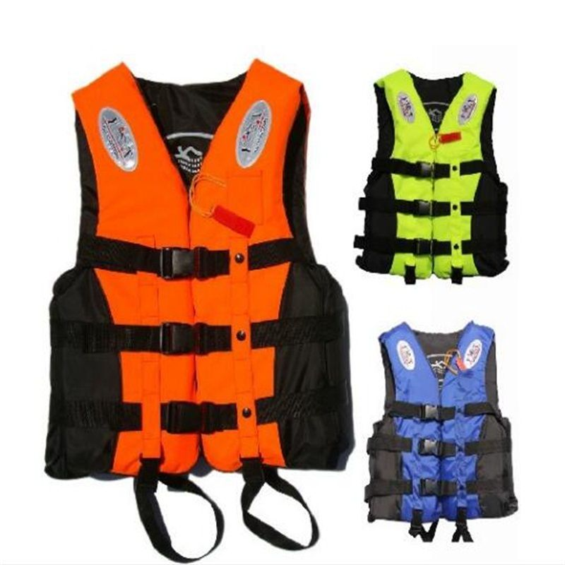 Life Jacket Water Skiing Life Vest Safety Swimming Vest Inflatable Surfing Suit Water Sports Kids Life Jackets Life Jacket Fishing Vest