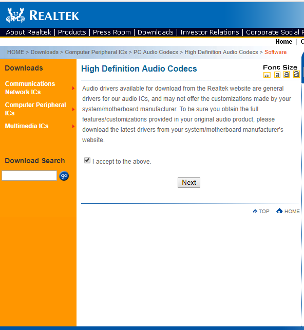 How to download and reinstall Realtek HD Audio Manager in
