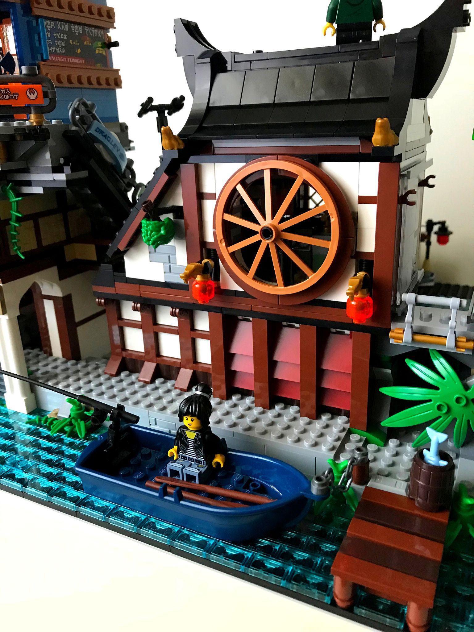 Ninjago City Docks Ninjago Lego Instructions Lego Ninjago Lego