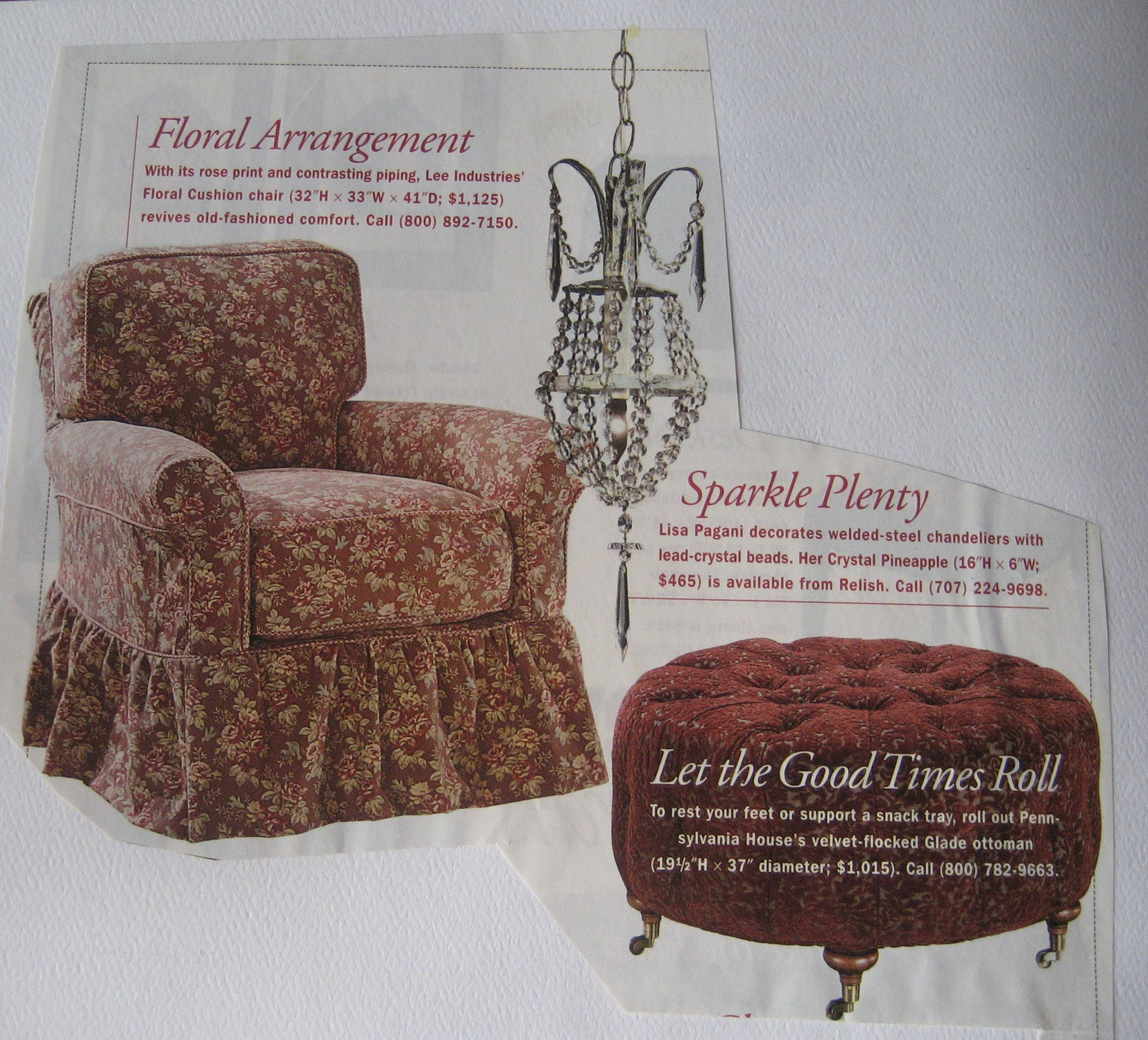 shabby chic furniture. love the look of the chair
