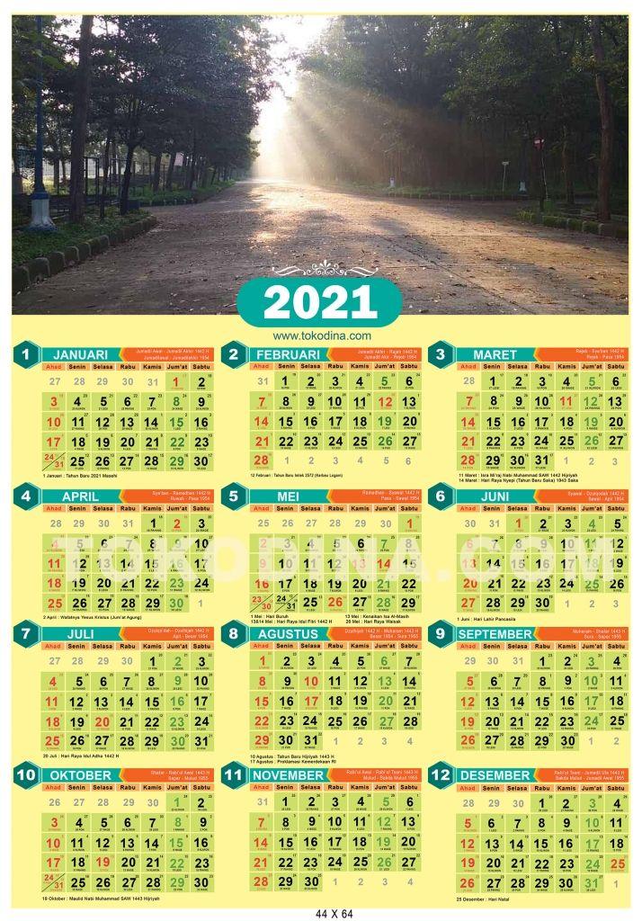 Kalender 2021 Lengkap