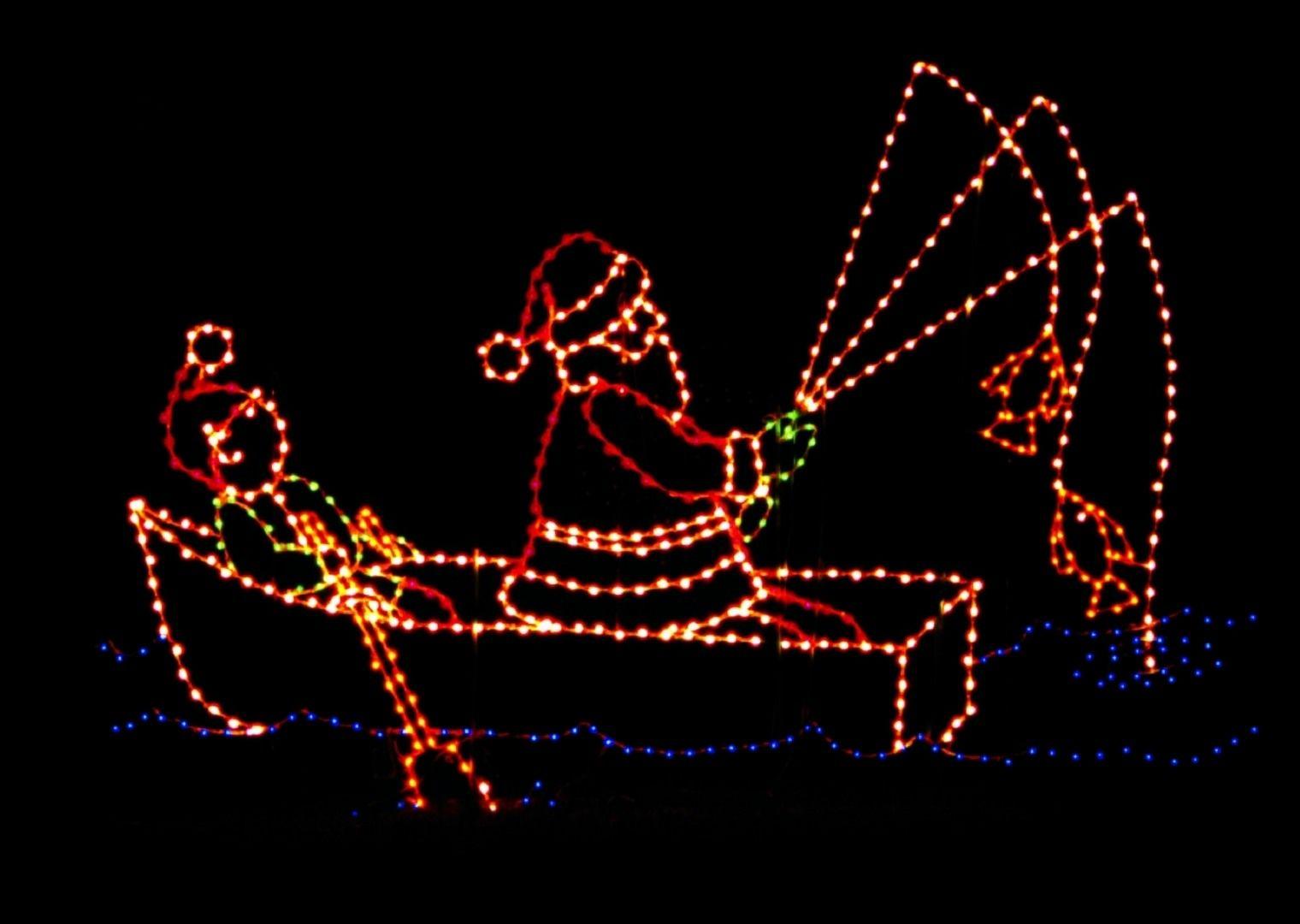 Animated Displays :: Section A   Animated christmas lights ...