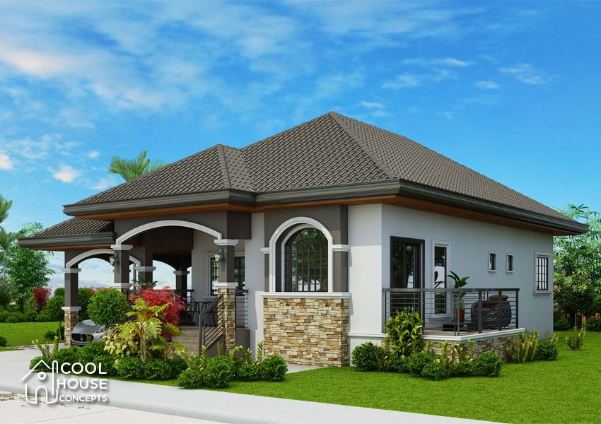 Elegant One Storey Elevated Home Plan Cool House Concepts In 2020 Bungalow Style House Plans Unique House Plans Bungalow House Plans