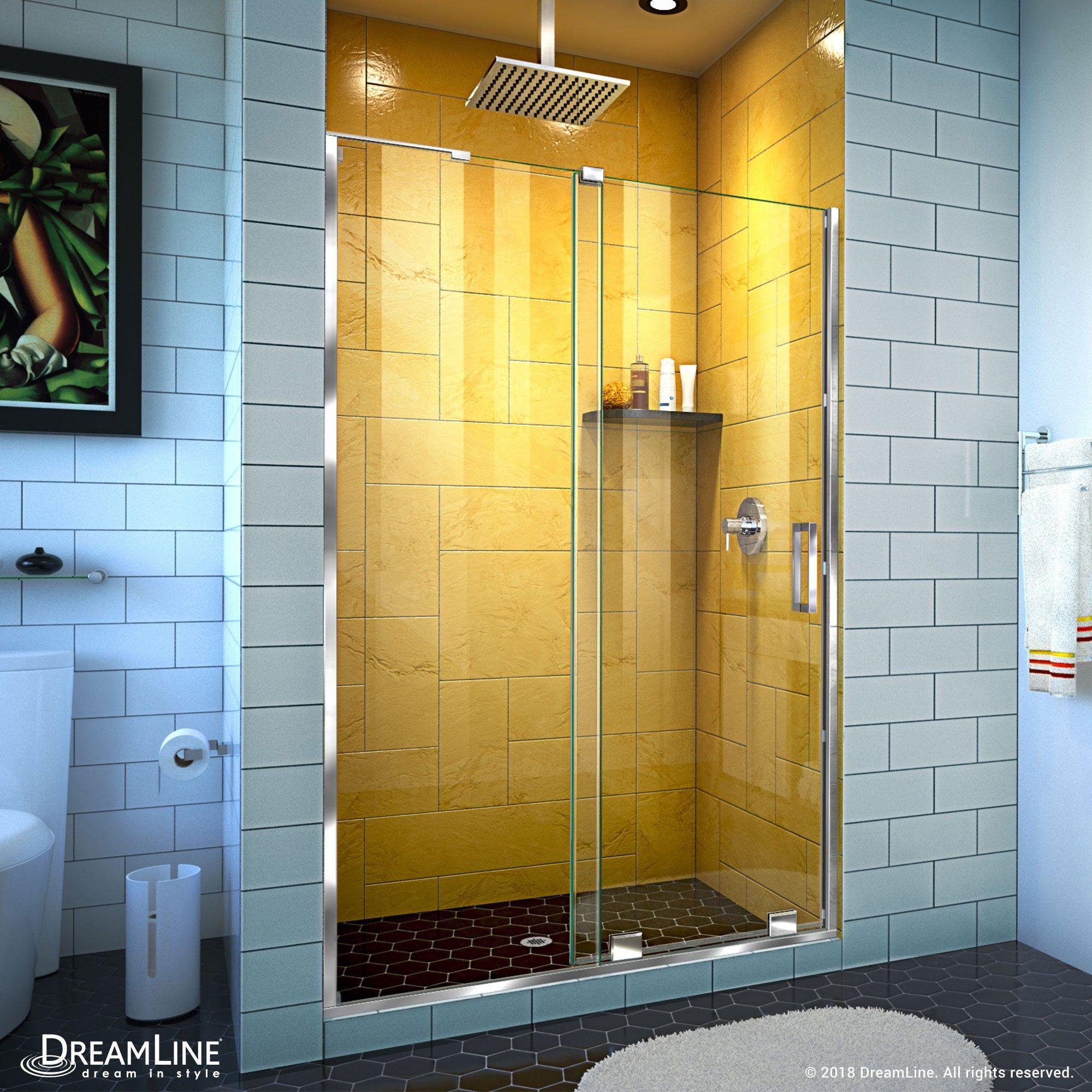 The Dreamline Mirage Z Frameless Sliding Showerdoor Is The