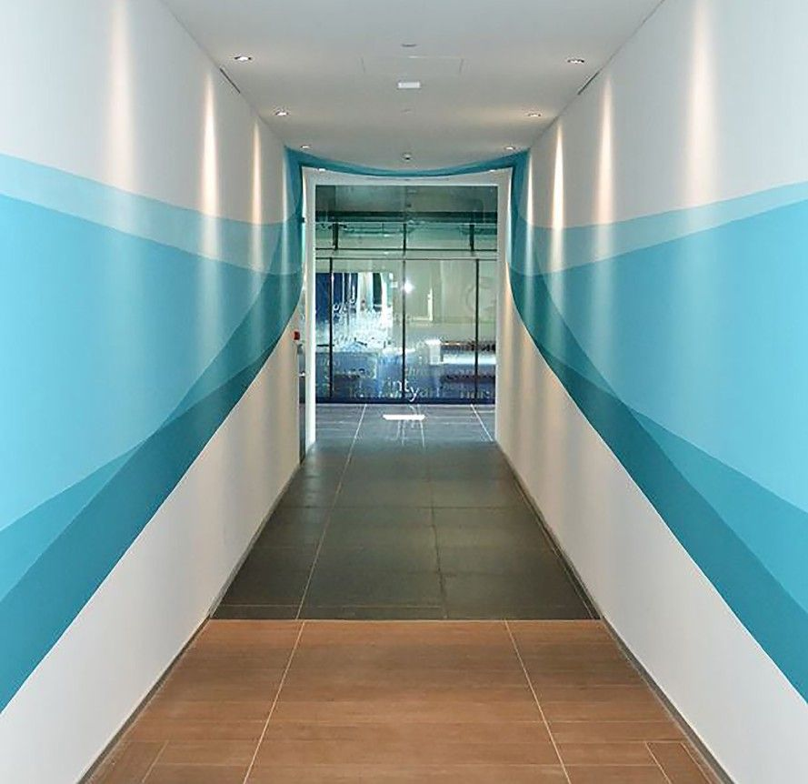 Mind Blowing Aisle Decor: This Mind-blowing Hallway Mural Changes Shape As You Walk