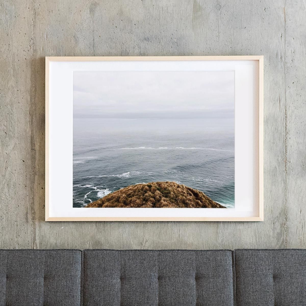 add depth to your walls with the deep set frame which sets back your