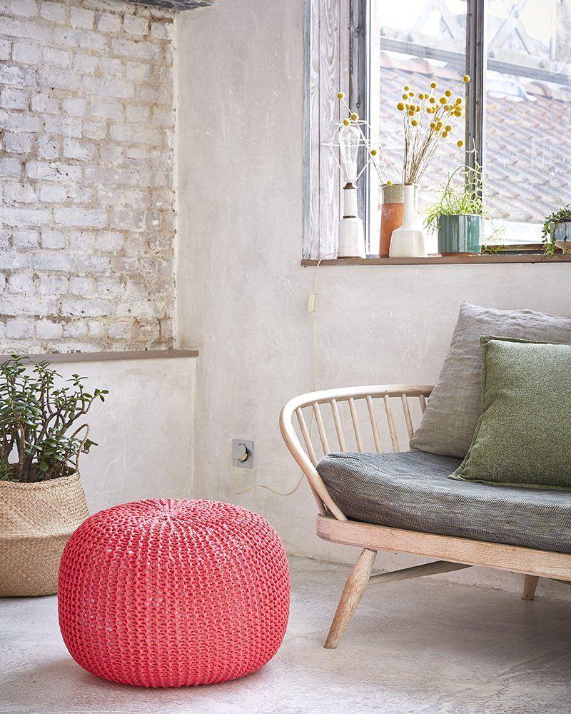 Kit pour tricoter un pouf / Phildar / tuto tricot pouf | TRICOT ...