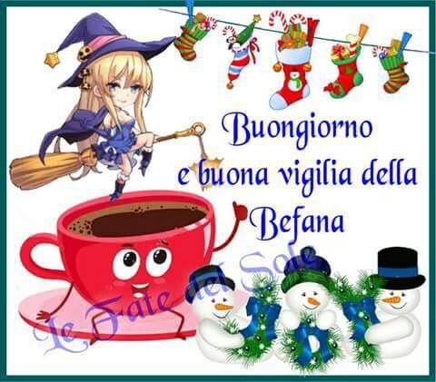 Befana Buon Natale Buongiorno Buon Natale Natale