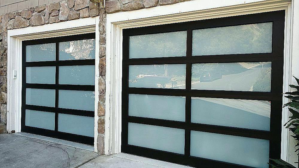 Glass Garage Door Replacement Panels Google Search Glass Garage Door Broken Garage Door Garage Door Spring Repair