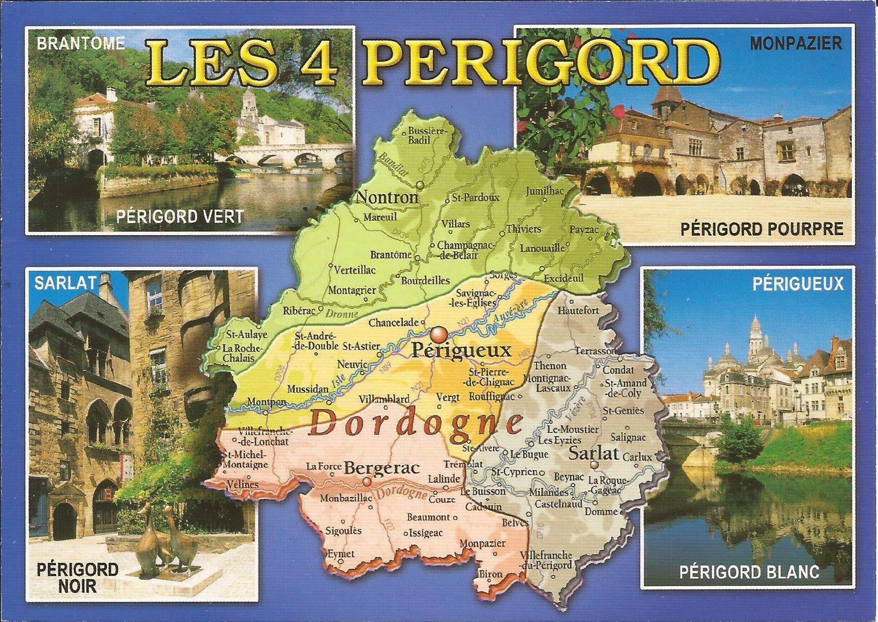 24 Dordogne Dans Ma Boite Aux Lettres Cartes Postales De France