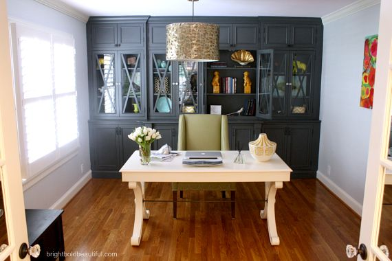 Stylish Home Office Bald hairstyles Desks and Bright