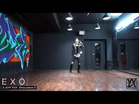 EXO(엑소)-LOTTO(로또) LOUDER(라우더) 안무 거울모드 dance cover mirrored [와와댄스 마포본점 WAWA…