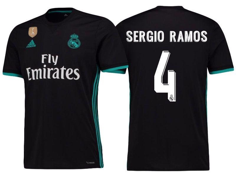 Real Madrid 17-18 Away Shirt sergio ramos