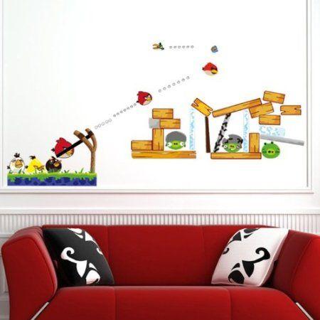 Angry Birds Sticker Art Design Decal Wall Decals Kids Home Decor