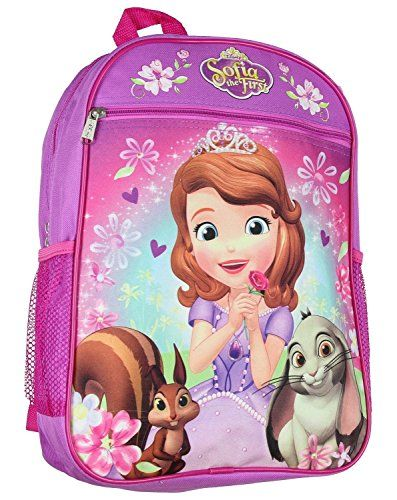 19135de23b6 Disney Princess Sofia 15 Backpack     This is an Amazon Affiliate link.  Continue to the product at the image link.